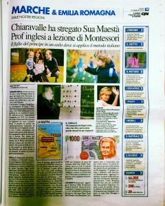 La Fondazione Chiaravalle Montessori sul Carlino